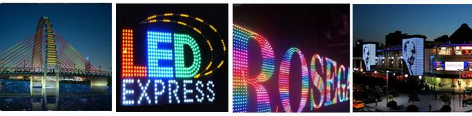 D50 7Leds Pixel Light DMX512